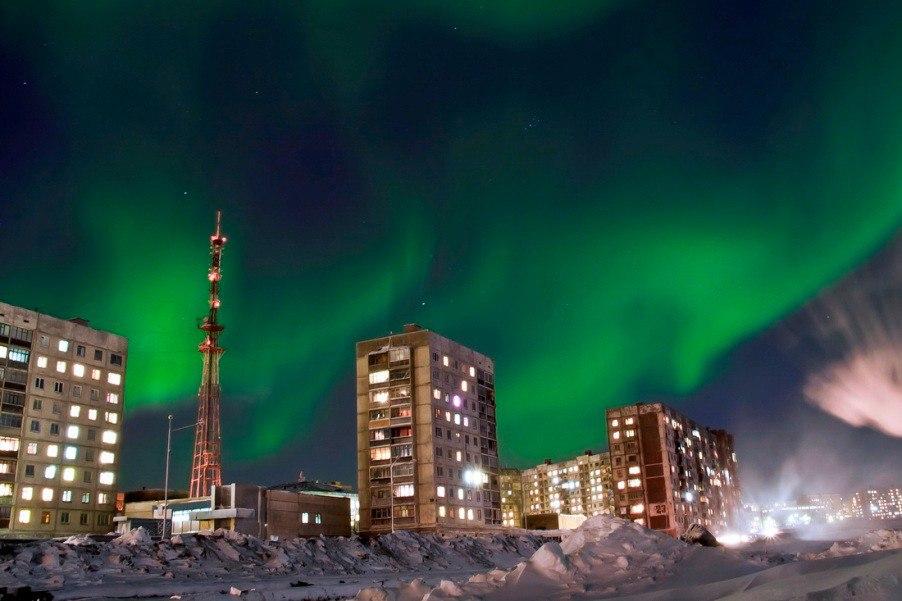 Норильск – самый северный город мира