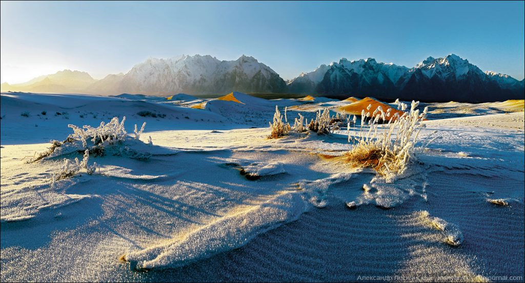 Чарские пески – сибирская пустыня