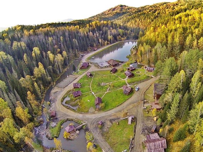 Таёжная заимка Лесная сказка – отдых наедине с Сибирью!