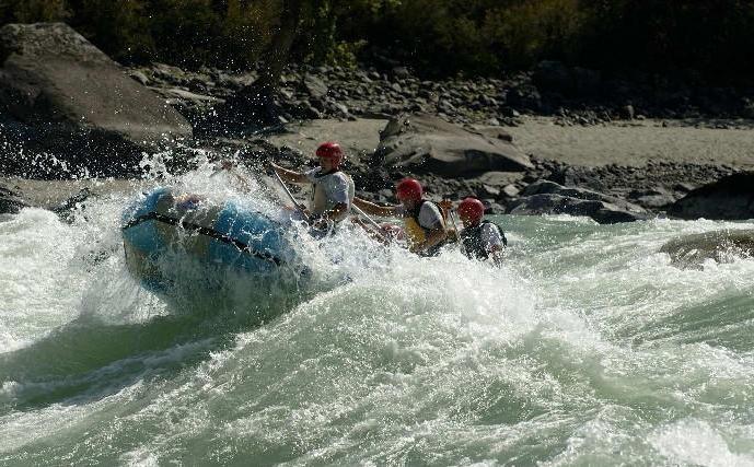 Река Катунь – хозяйка алтайских гор