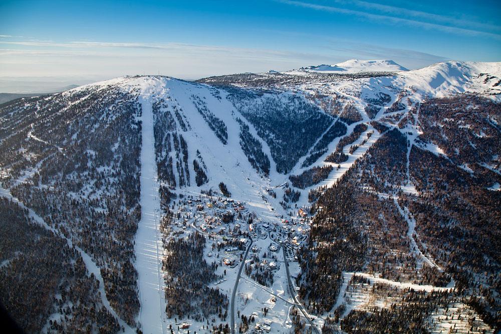 Сибирский экстрим на горнолыжном курорте Шерегеш