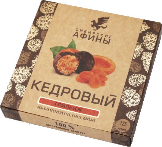 Полезные сладости – грильяж «Сибирские Афины»