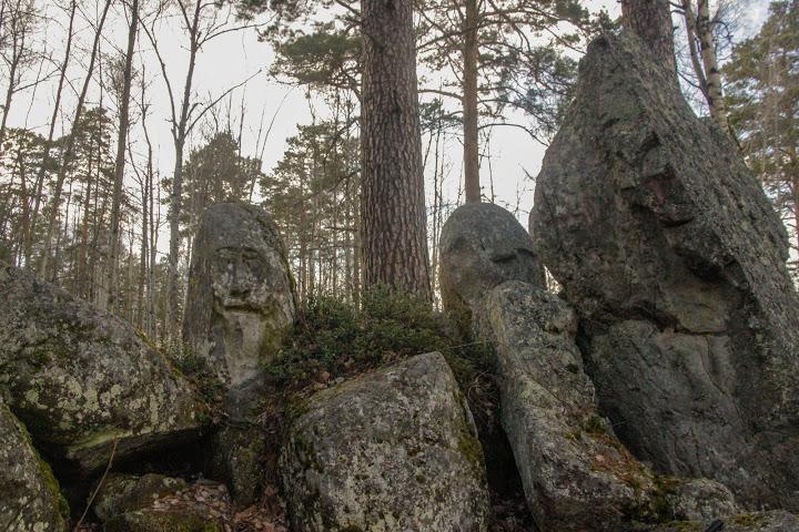 Тасеевские идолы – стражи красноярских лесов
