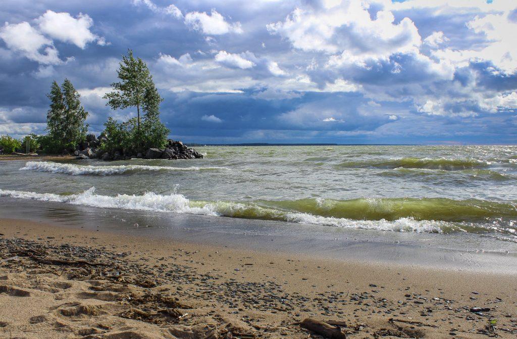 Наслаждаемся летом на Обском море