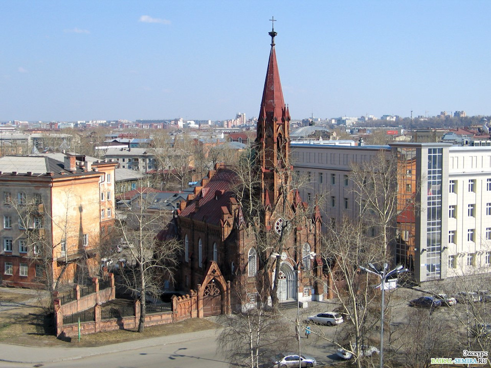 Европейская архитектура в Сибири – Польский католический костёл